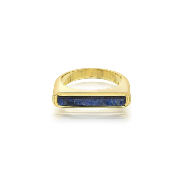 Isharya Borderless Stackable Lapis Ring