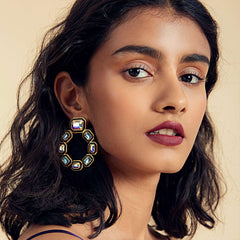 Isharya Glitter on the Go Grecian Hoop Earrings