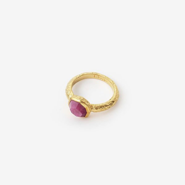 Isharya Orchid Goddess Band Ring