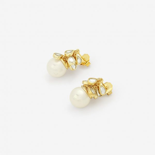 Isharya Paradise Dew Cluster Pearl Earrings