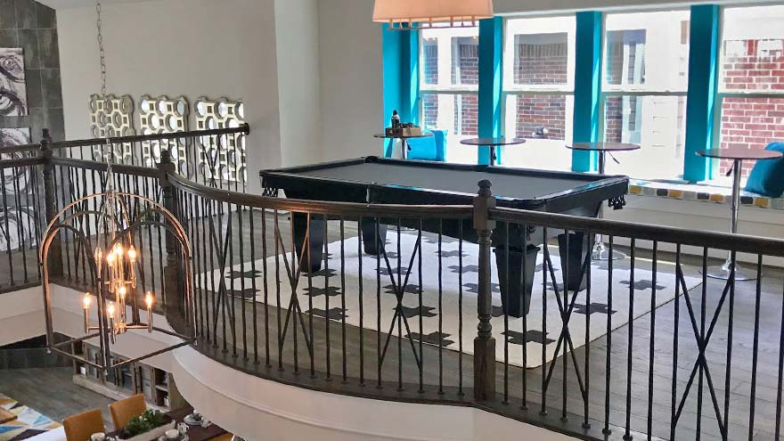 Grand Homes Model Pool Table