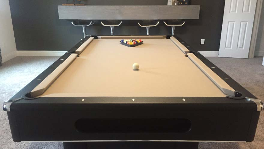 Impression Homes Model Pool Table