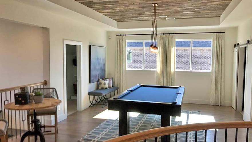 Pool Table Install Model Home Shaddock Homes