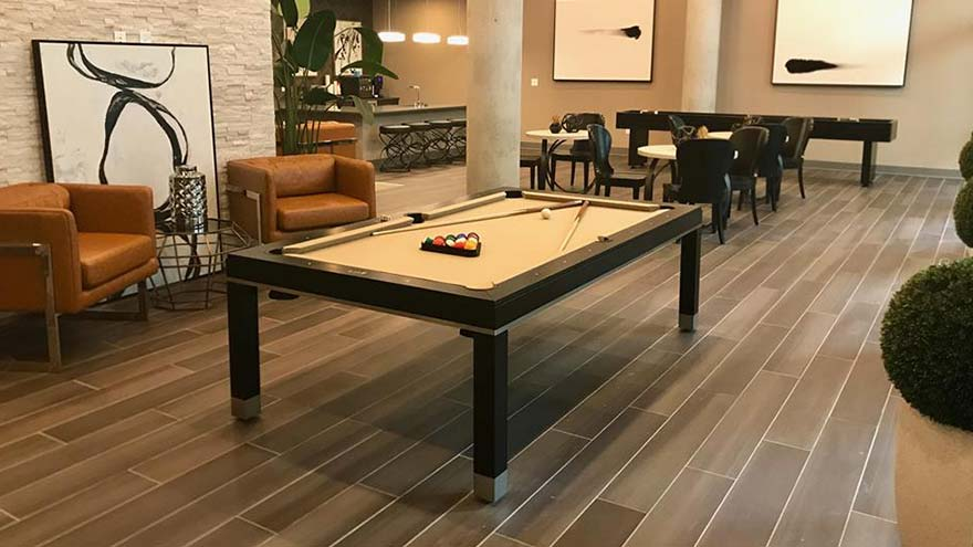 Modern Designer Pool Table Dallas Texas