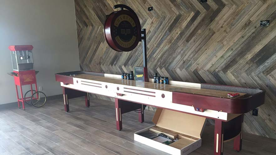 Champion Shuffleboard Texas