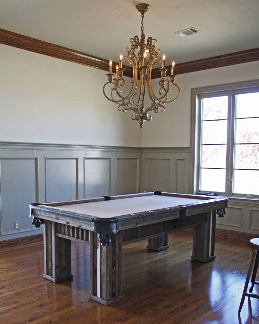 Custom Texas Colt Pool Table