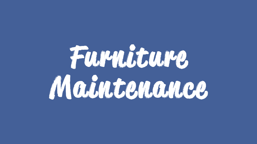 Game Room Furniture Maintenance Guide