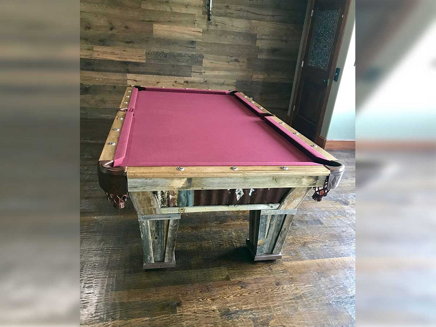 Texas Mustang Pool Table