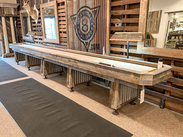 22' Custom Texas Shuffleboard - Display Model