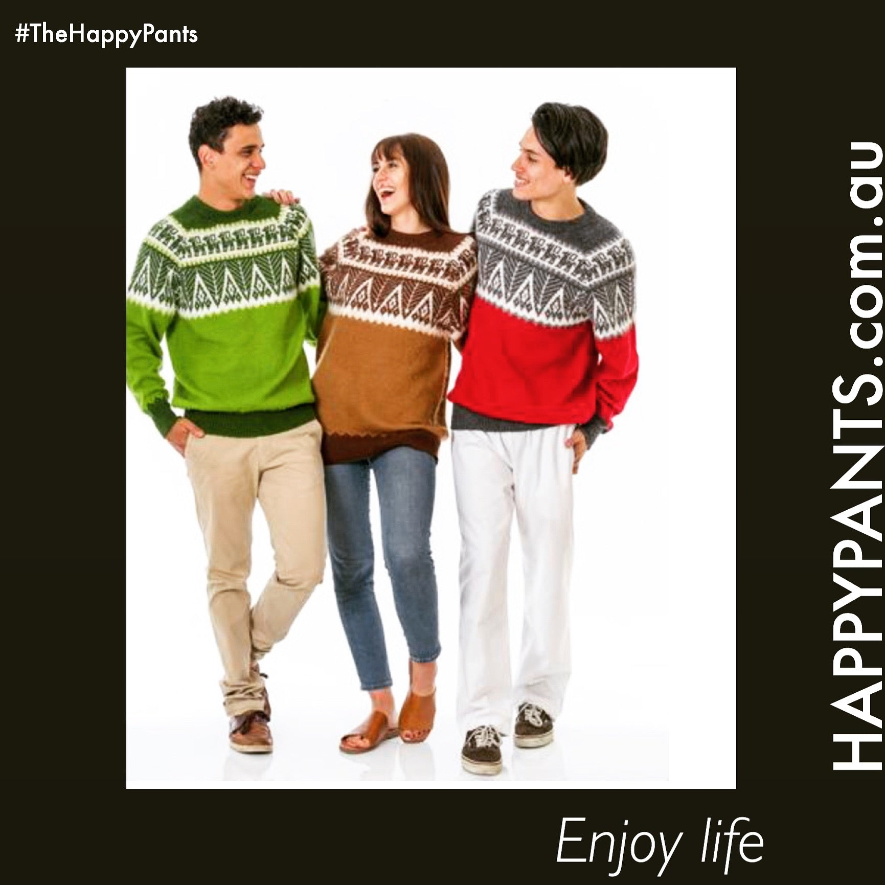 Enjoy Life with Happy Pants