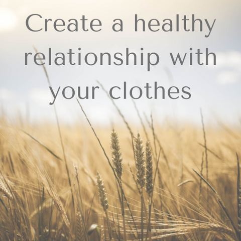 What is your relationship with clothes