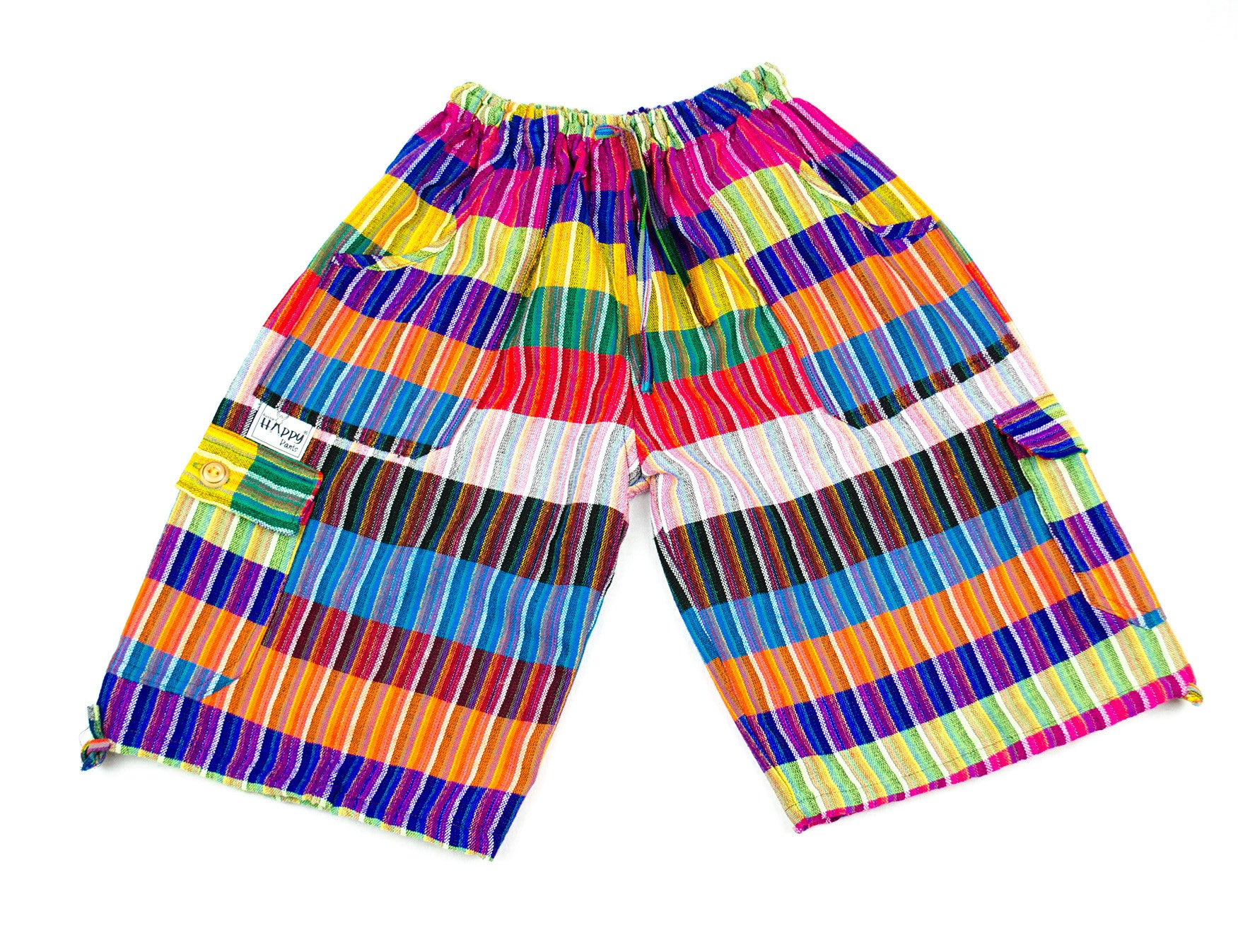 Colourful Capri Boardshorts - Happy Pants