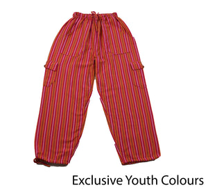 Pink Youth Pants - Happy Pants