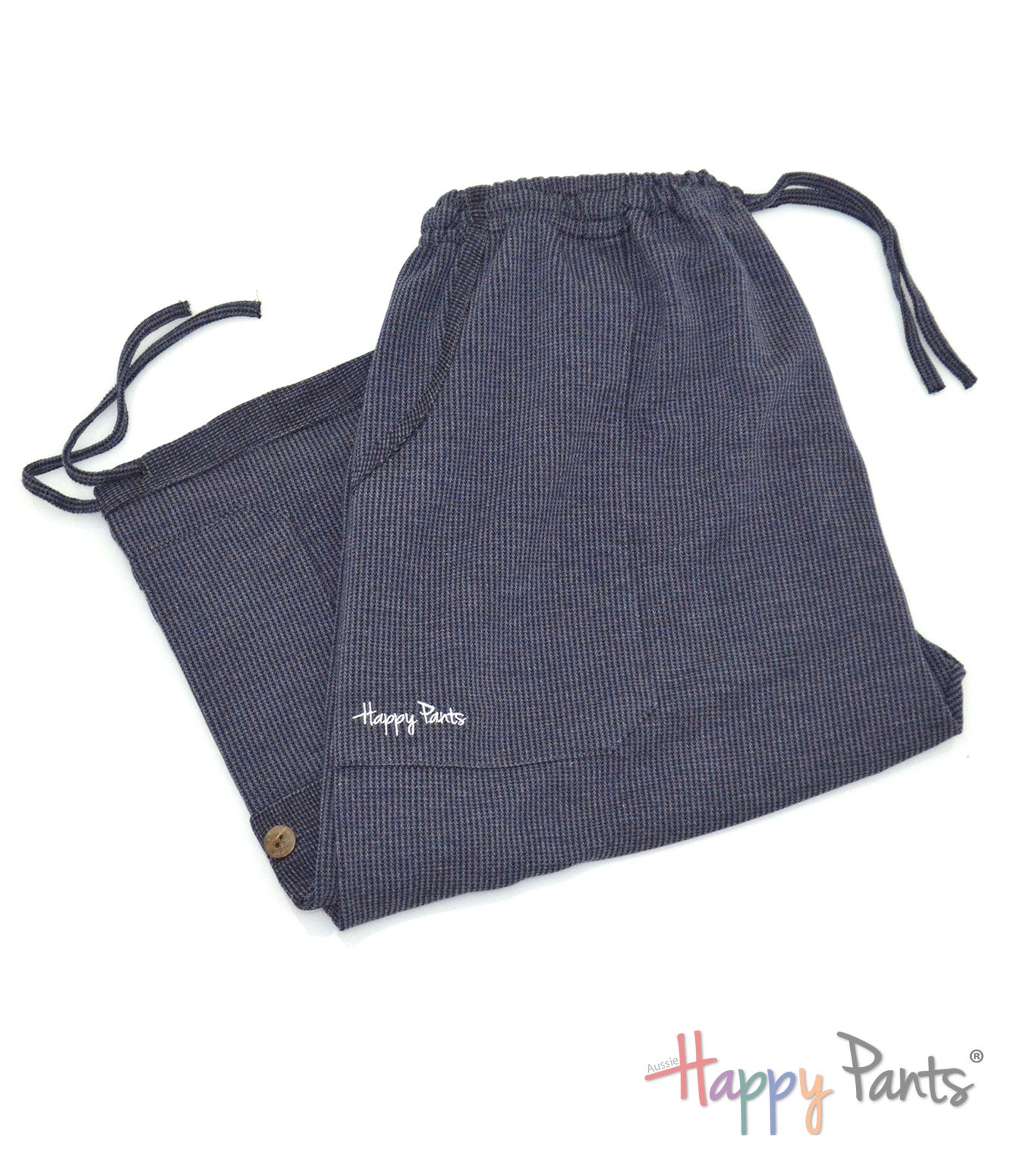 Classic Navy Blue Three Quarter Shorts