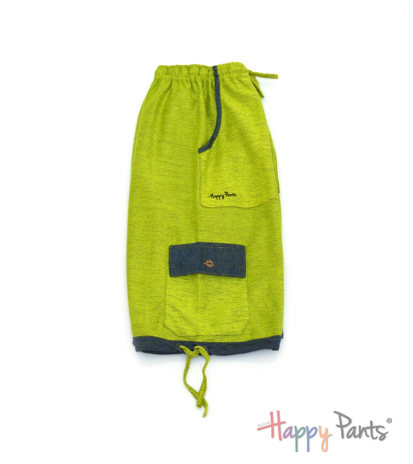Lime Punch Three Quarter Shorts
