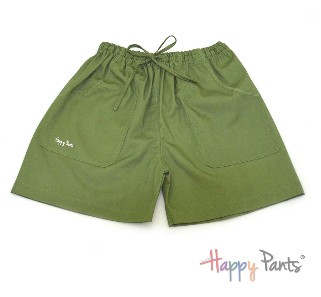 Primavera Green Shorts