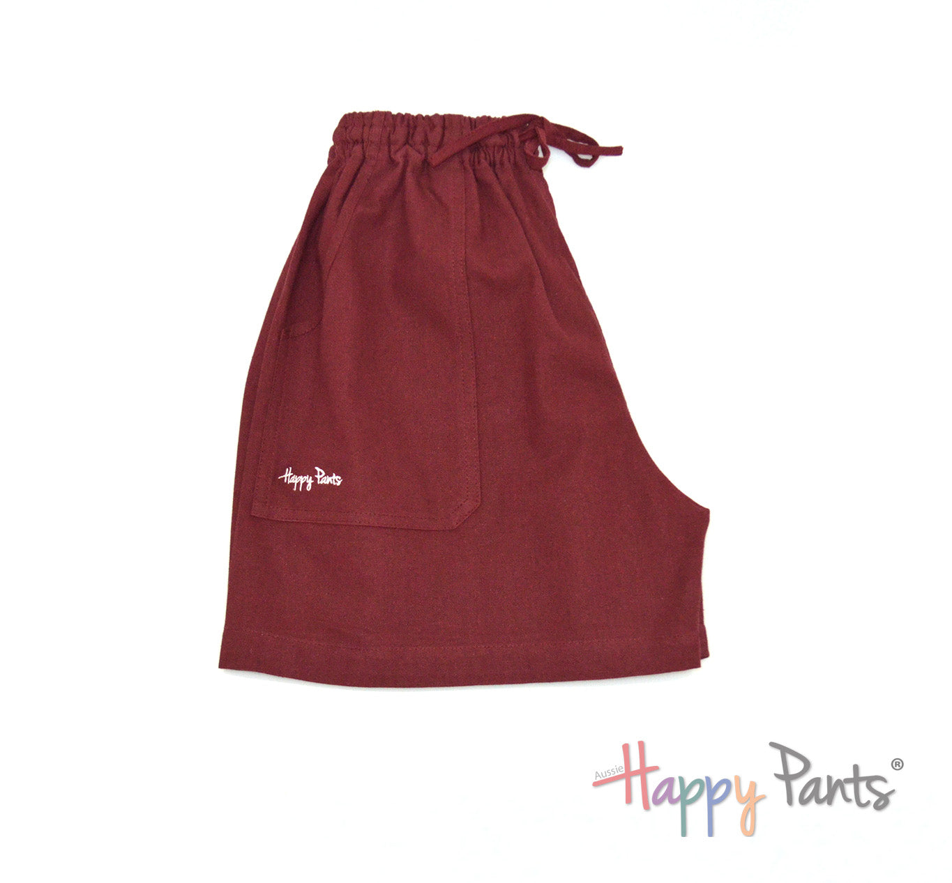 Deep Burgundy Shorts