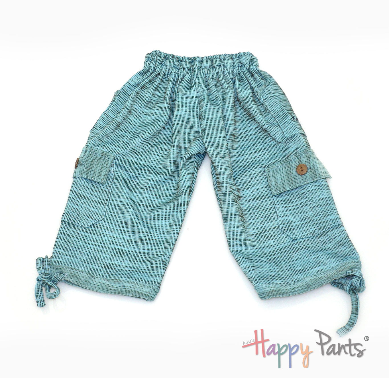Milky Skyway Blue Kids Boardshorts 3/4 Shorts