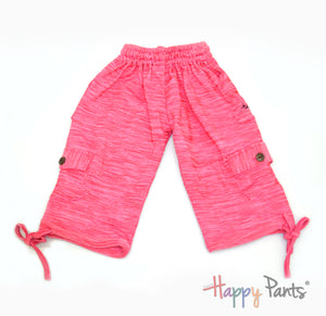 Watermelon Delight Pink Kids Boardshorts 3/4 Shorts