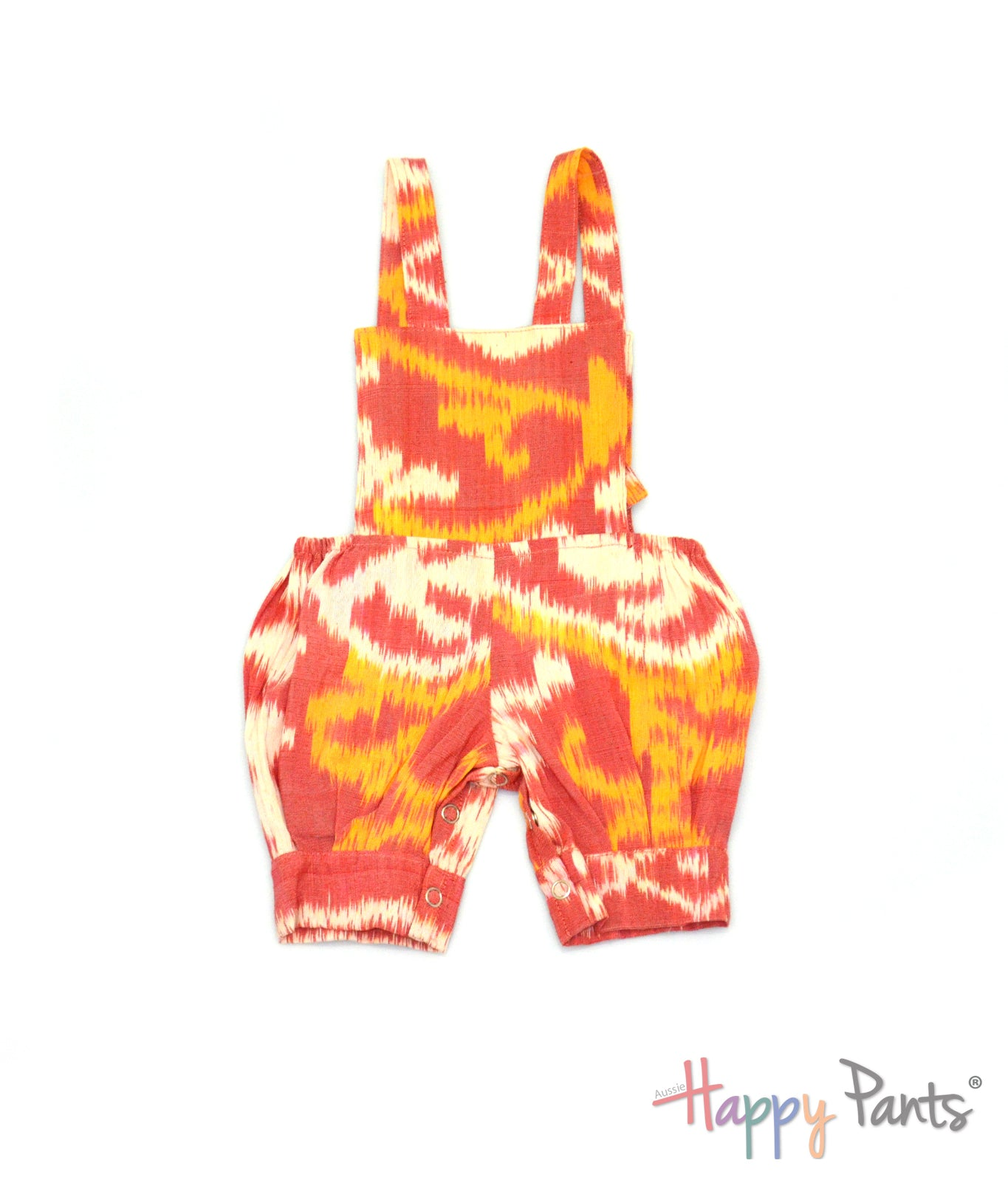 Shining Fire Red Happy Jumpsuit