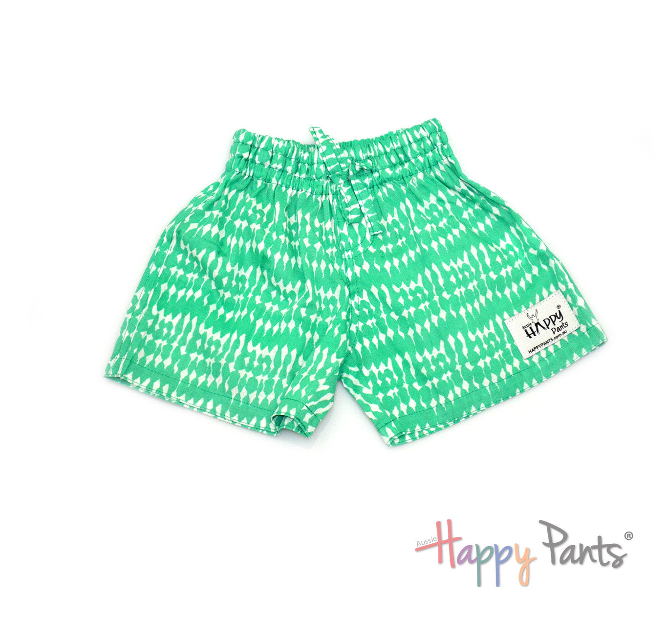 Mysterious Lime Kids Shorts
