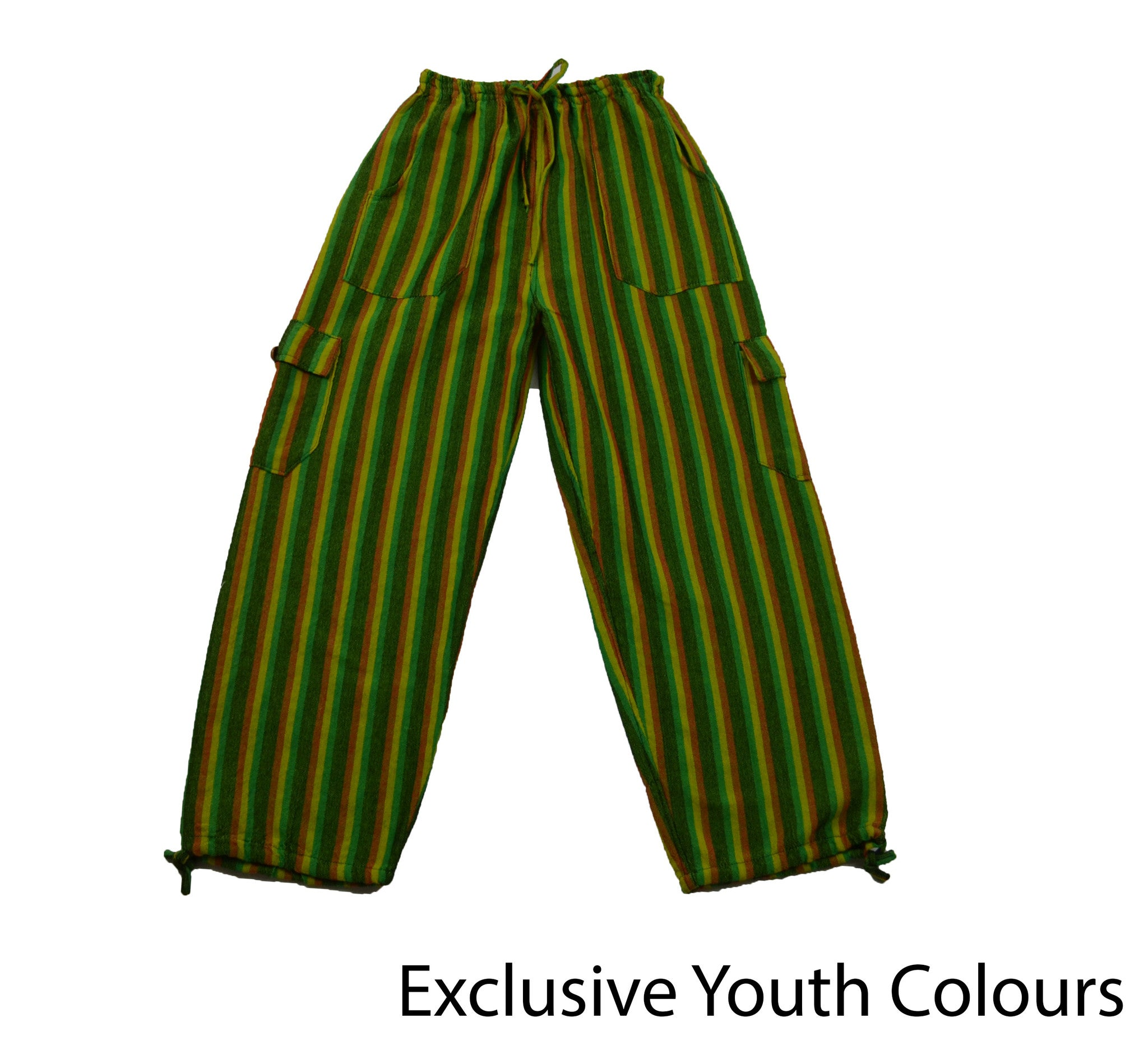 Green Youth Pants - Happy Pants