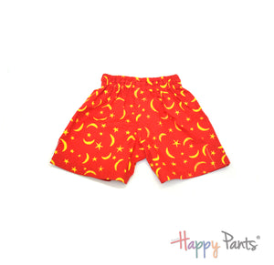 Blue Cotton BoardShorts - Happy Pants - 1