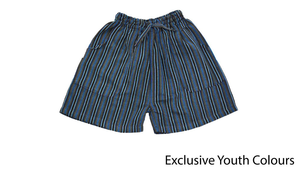 Youth Gray shorts - Happy Pants
