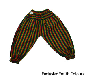 Rasta Bohemian Youth Pants - Happy Pants