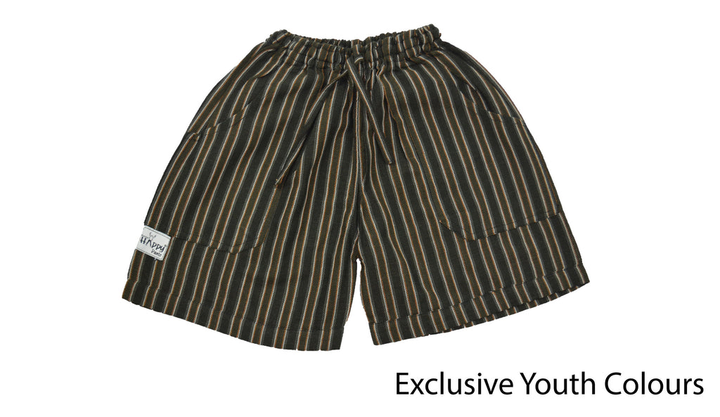 Youth Brown shorts - Happy Pants