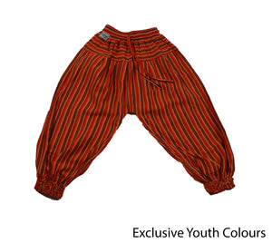 Orange Bohemian Youth Pants - Happy Pants