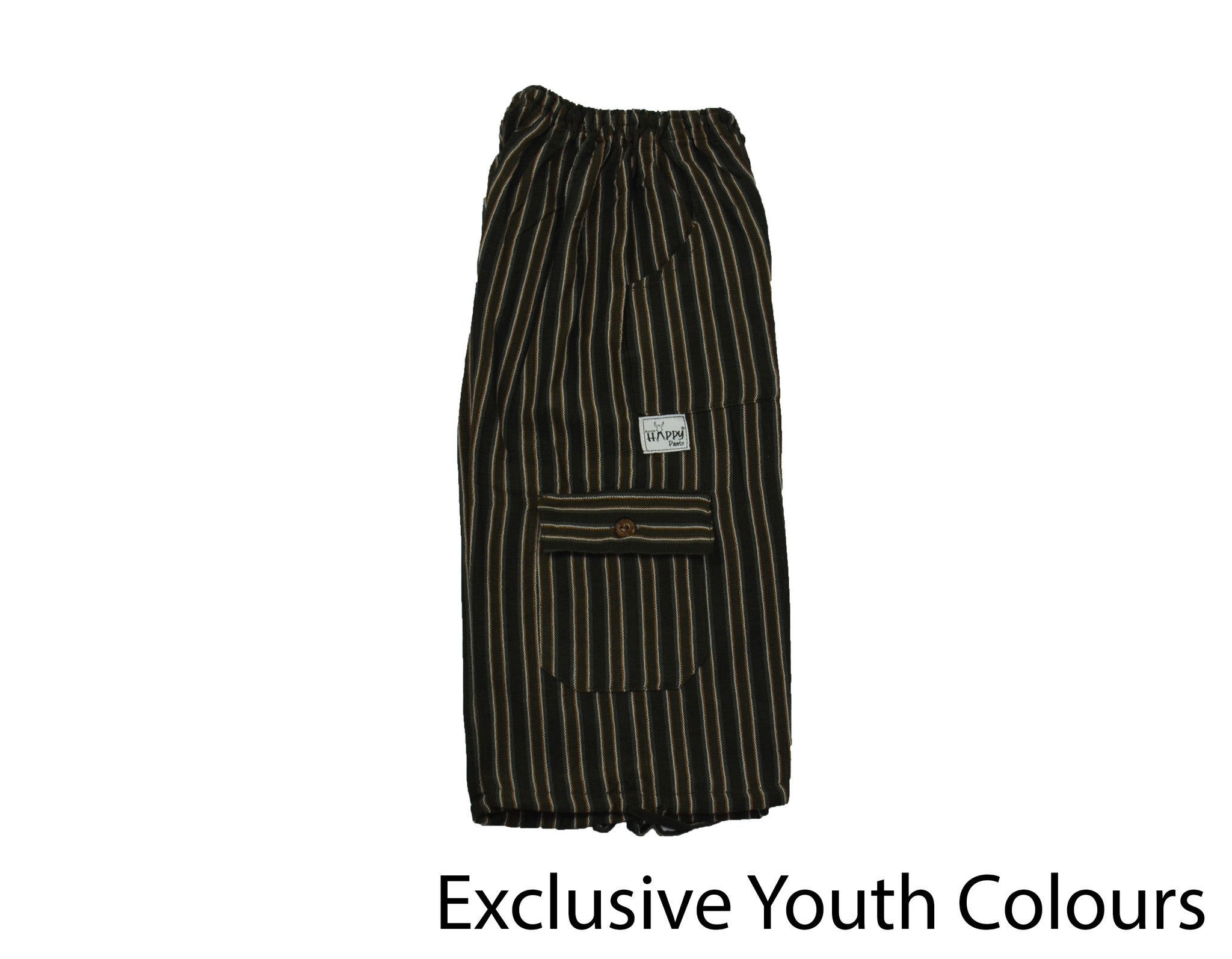 Brown Youth Boardshorts - Happy Pants