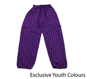 Purple Youth Pants - Happy Pants