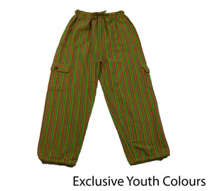Forest Green Youth Pants - Happy Pants