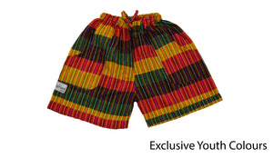 Youth Rasta shorts - Happy Pants