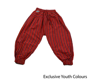Red Bohemian Youth Pants - Happy Pants