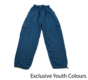 Aqua Blue Youth Pants - Happy Pants