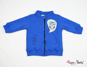 Blue Kids Fleece Jacket - Happy Pants