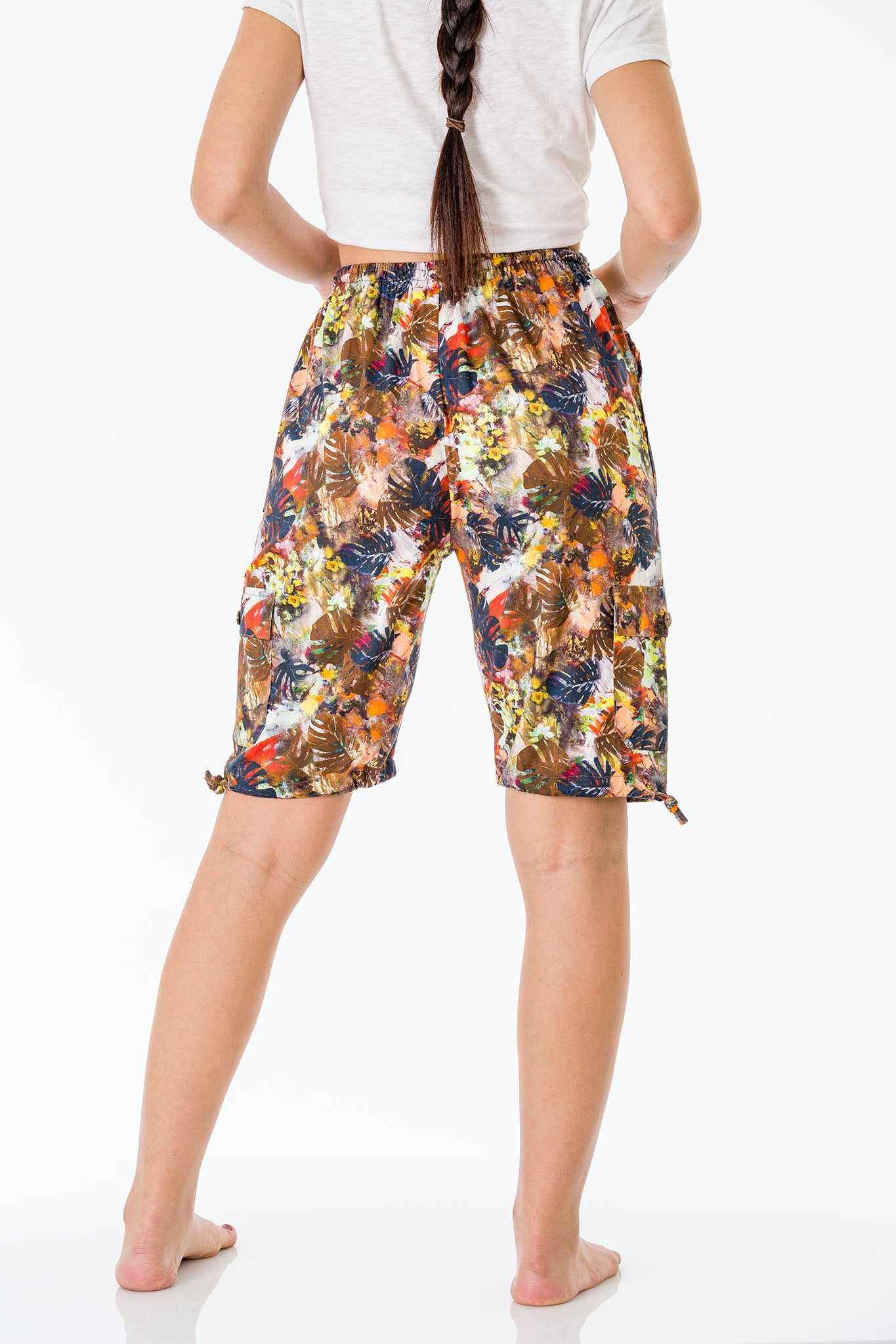 Summer Dreams Three Quarter Shorts