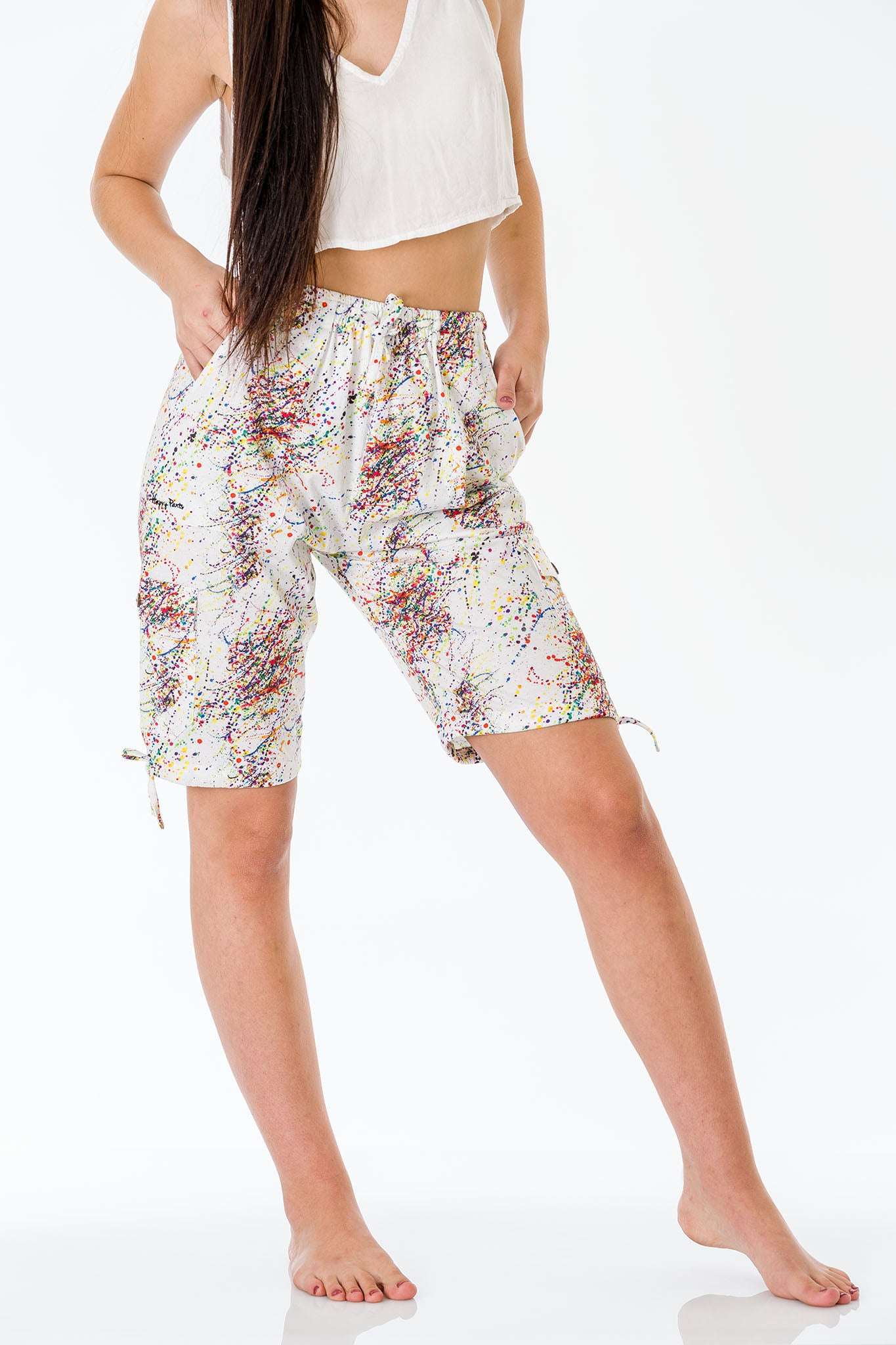 Mystery Three Quarter Shorts