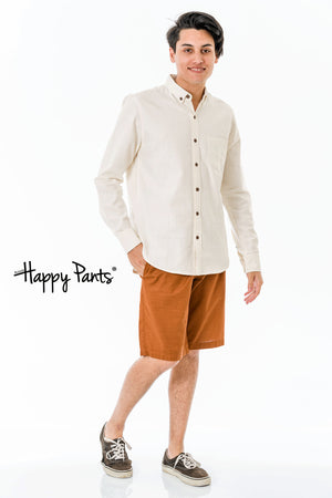 Long Sleeve Cotton Plain Shirt