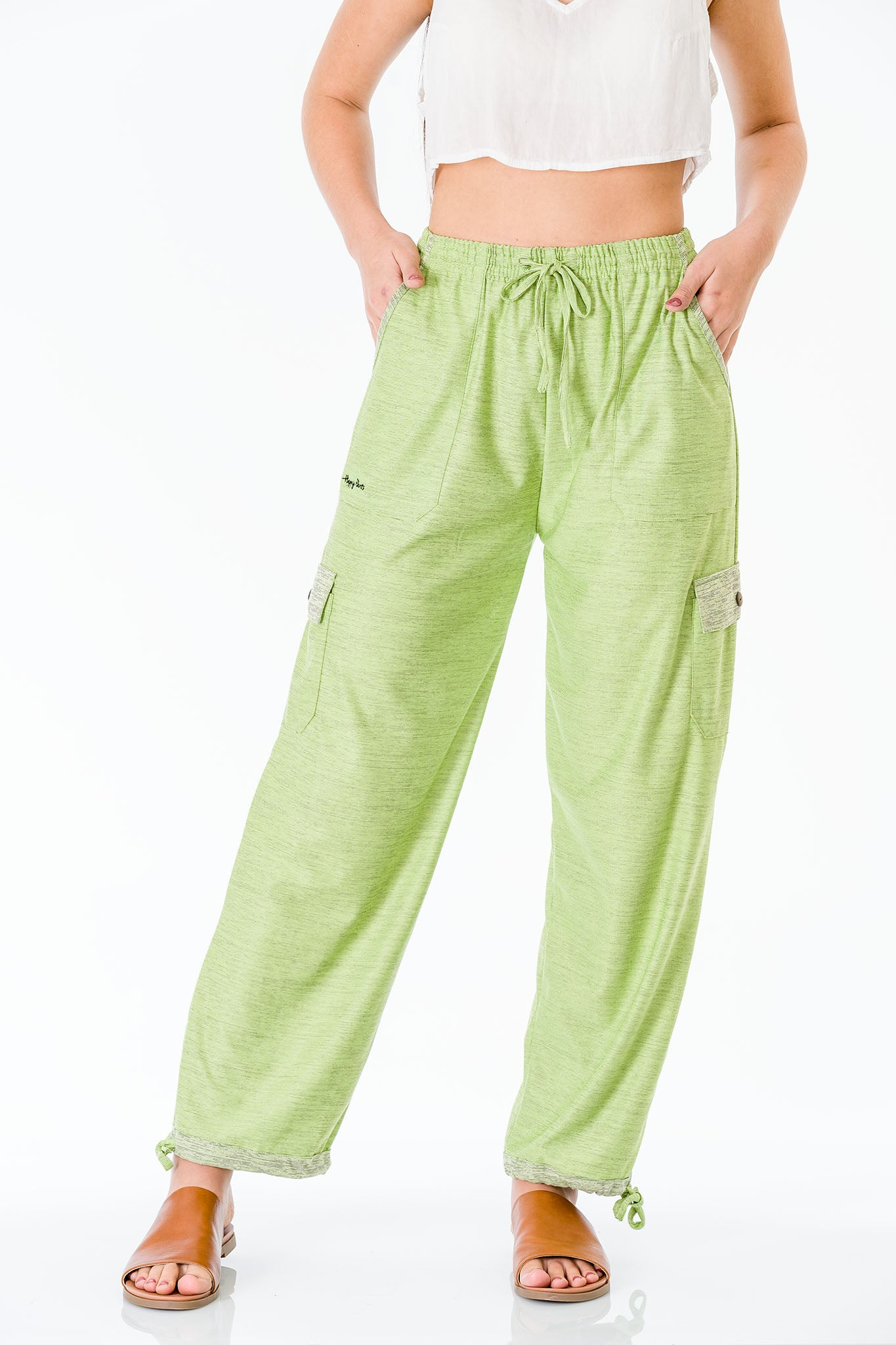Green Apple Pants