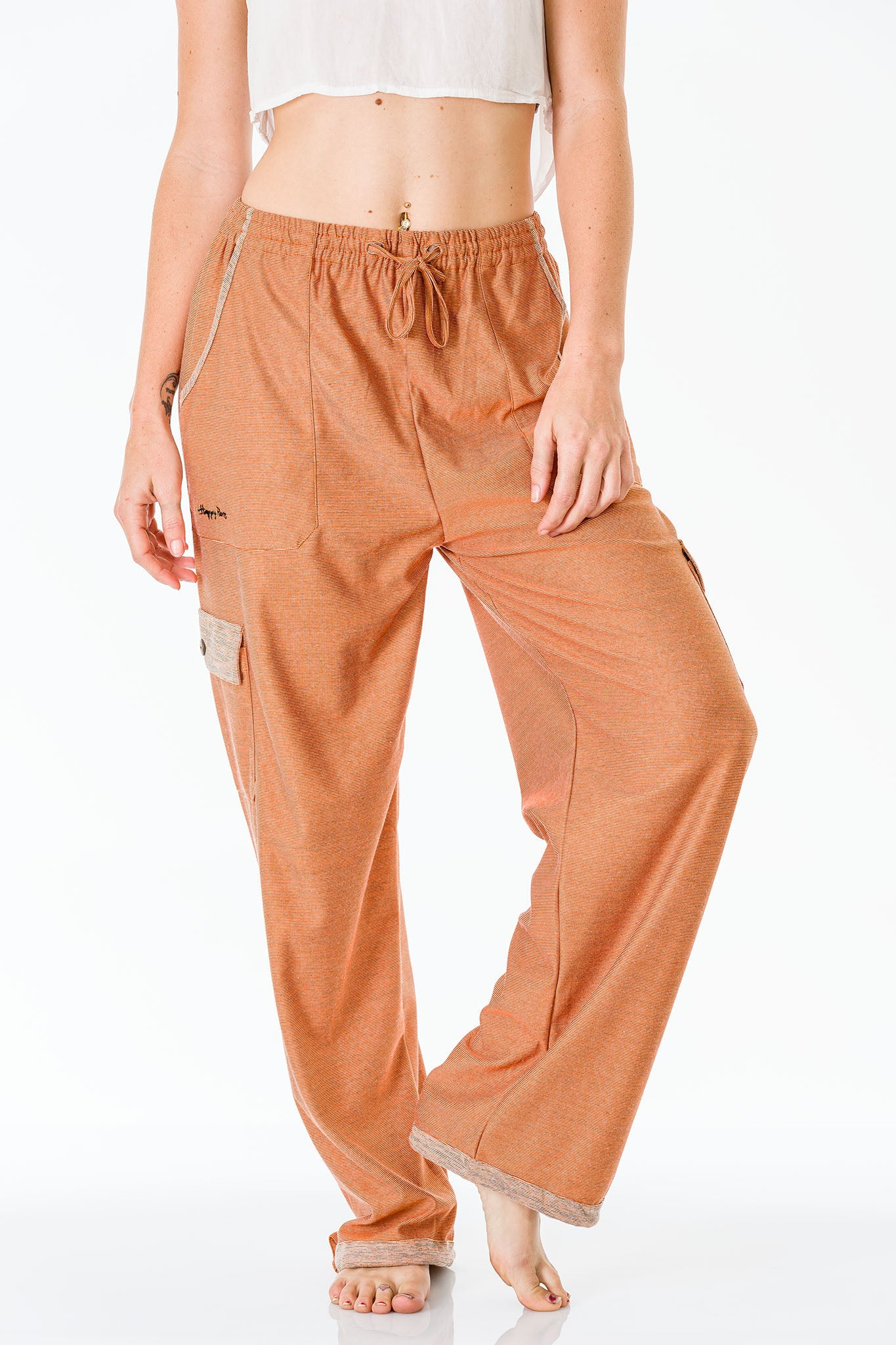 Urulu Orange Pants