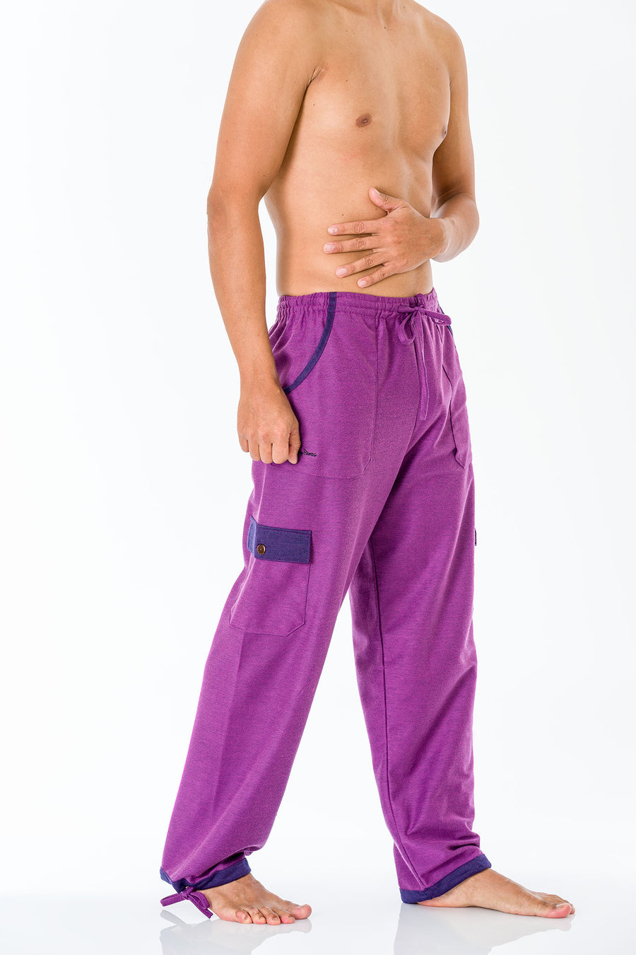 Amethyst Purple Pants