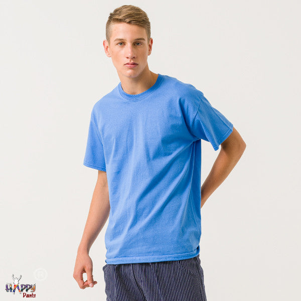 Aqua Blue T-Shirt - Happy Pants - 1