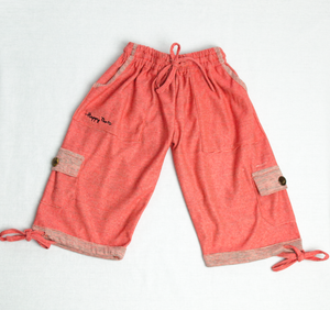Blossom Pink Happy Kids Boardshorts 3/4 Shorts