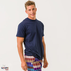 Navy Blue T-Shirt - Happy Pants