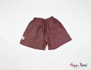 Brick Pink Happy Shorts - Happy Pants