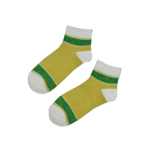 Aussie Gold and Green Classic - Aussie Happy Socks - Happy Pants