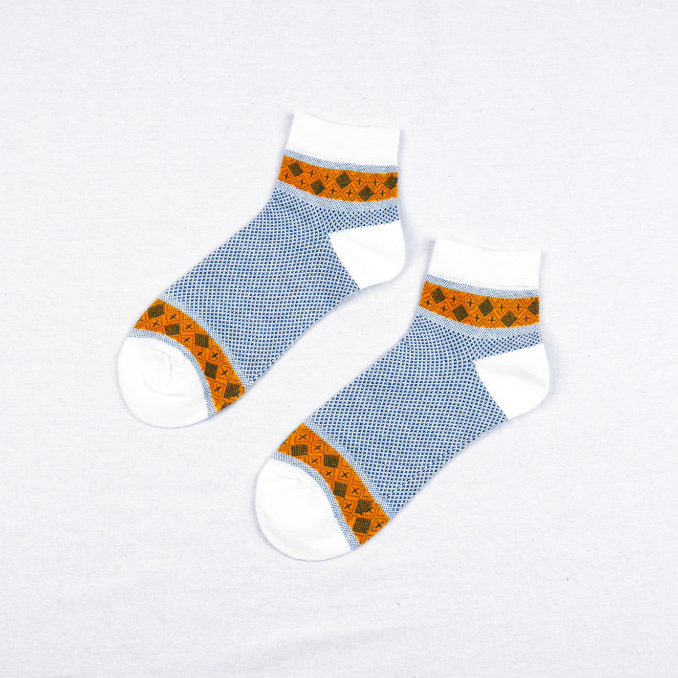 Blue and Orange Classic - Aussie Happy Socks - Happy Pants